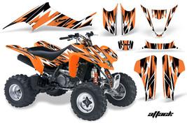 ATV Decal Graphic Kit Wrap For Suzuki LTZ400 Kawasaki KFX400 2003-2008 ATTACK O - $169.95