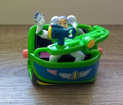 Disney/Pixar Toy Story Metal Rolling Toy Buzz Lightyear Toy Ride Disney ... - $12.18