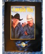 VINTAGE 1994 THE COWBOY WAY MOVIE PRESS KIT: 8 GLOSSY PHOTOS & PROD NOTE... - $9.99