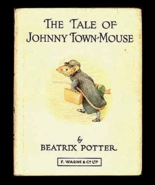 The Tale of Johnny Town-Mouse Beatrix Potter Picture Book Vintage 1986 E... - $7.99