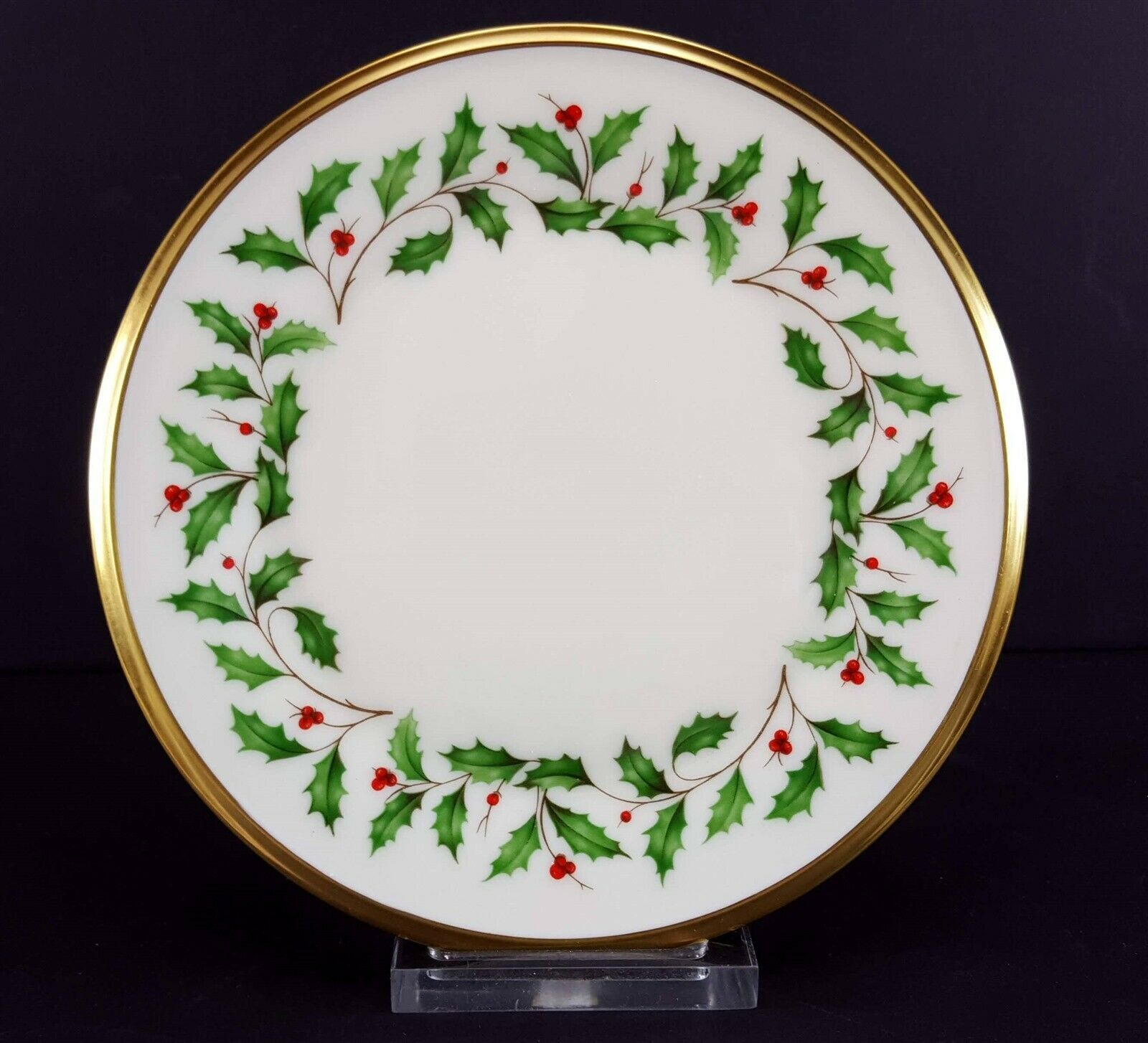 LENOX China Holiday Dimension 5 Piece Place Setting Dinnerware USA image 7