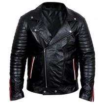 Ryan Gosling Blue Valentine Dean Bomber Motorcycle Leather Jacket Valentine Gift image 1