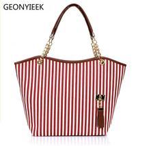 Canvas Big Women Messenger Shopper Ladies Hand Tote Bags Fashion Handbag Famous  - $21.66