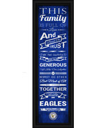 "Embry–Riddle Aeronautical University ""Eagles""- 24 x 8 Family Cheer Frame... - $39.95"