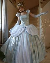 New Cinderella light blue dress Cinderella Costume - $179.00