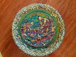"* 1981 Fenton Carnival Glass Plate 8""                                   ... - $13.48"