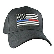Thin Blue Line Red Line Support Police Fire Firefighter Law Enforcement ... - $14.99