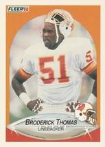1990 Fleer #357 Broderick Thomas - $0.50