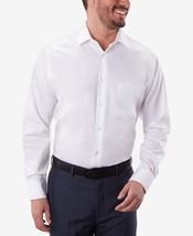 Geoffrey Beene  White Sateen Classic Fit Long Sleeve Dress Shirt.- 18 - ... - $21.95