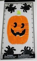 Halloween     BIG JACK O' LANTERN     Gel Clings    NIP - $2.84