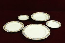 Crown Imperial China Clementine Rosaria  Czech  5 Piece  Place Setting - €25,77 EUR