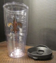 24 oz. Tervis New Orleans Saints Tumbler with black Lid  - $11.83