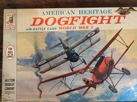 Vintage Dogfight World War I Board Game 1963 Complete American Heritage - $60.00