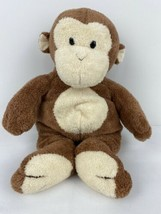 "Ty Pluffies Dangles The Monkey Super Soft Plush EUC 11"" No Tag 2002 Smoke Free - $14.84"
