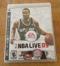 NBA Live 09 (Sony PlayStation 3, 2008) - $6.92
