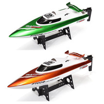 New 2018 Feilun-FT009-2-4G-4CH-Water-Cooling-High-Speed-Racing-RC-Boat - $83.72