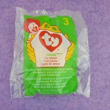 TY Teenie Beanie Baby Twigs Giraffe Toy Animal 1998 McDonalds #3 - $7.92
