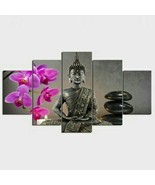 Buddha 5 Piece Canvas Wall Decor No. BD3015 - $37.73+