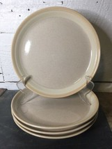 "4 White Tie by MIKASA Potter's Art Ben Seibel 8"" Salad Plates - $29.69"
