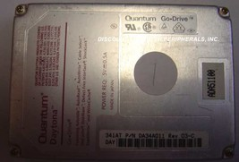 QUANTUM DAY341AT DA34A 341MB 2.5in Drive Tested Good Free USA Shipping - $49.95