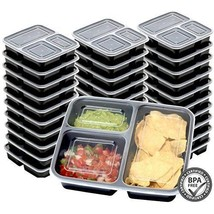 Reusable Meal Prep Containers 3 Portion Control... - $43.56