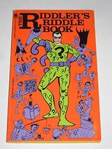 The Riddler's Riddle Book Levin - $46.08