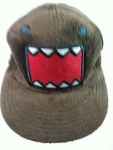 Domo Japanese Big Mouth Brown Snap Back Ball Cap Hat - $16.31