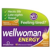 Vitabiotics Wellwoman Energy - 10 Orange Flavour Effervescent Tablets - ... - $102.29