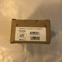 "WAC Lighting HR-836 Nickel 2.5"" Low Voltage Recessed Light Baffle Trim - $14.50"