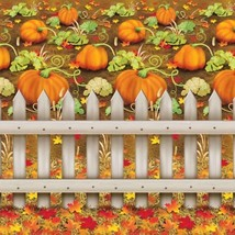 Beistle 1-Pack Decorative Pumpkin Patch Backdrop, 4-Feet by 30-Feet - $22.97