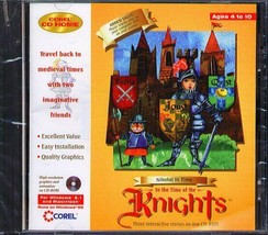 Nikolai in Time: Knights (Age 4-10) (CD, 1996) for Win/Mac -NEW CD in SLEEVE - $6.98