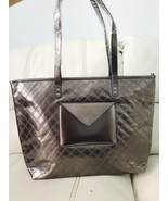 Bath & Body Works Black Friday 2015 VIP Tote Bag Only In Gray Glittery E... - $13.86