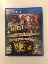 PLAYSTATION 4 STEAMWORLD HEIST AND DIG COLLECTION NEW 2 GAMES IN ONE - $16.82