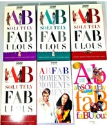 BBC Absolutely Fabulous - Series 1, vol. 1-4, plus 2 extras - $11.87