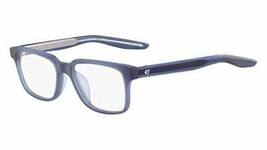 NEW YOUTH NIKE KD 929 403 Matte Midnight Navy Eyeglasses 49mm with Case - $98.95