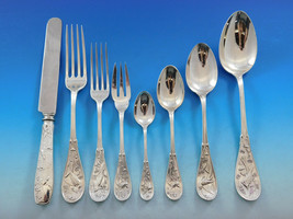 Japanese by Tiffany Co Sterling Silver Flatware Set Service 69 pcs Audub... - $28,995.00