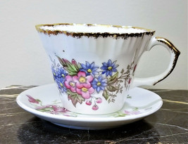 "Salisbury Made in England Fine Bone Porcelain Tea Cup ""BLOSSOM""  - $2.95"