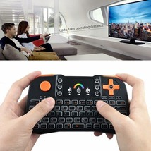 Colorful RGB Backlight Wireless Touchpad Keyboard for PC Android Smart T... - €19,64 EUR