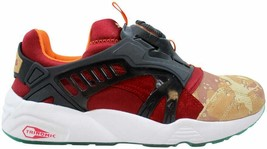Puma Disc Blaze Desert Dusk Dark Navy-Red Ribbon 363063 01 Men's Size 9 - $120.00