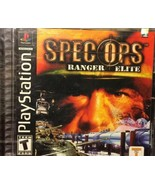 Spec Ops: Airborne Commando (PlayStation 1 PS1, 2002) BRAND NEW SEALED - $5.45