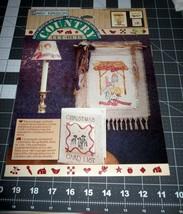 1990s Daisy Kingdom Applique # 19119 Christmas Joy Peace Love NOS - Out of Print - $2.93