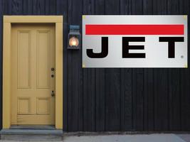Jet Tools Vinyl Banner 2'x4' 13 OZ. Garage or trade shows Ready Hang Equipment image 1