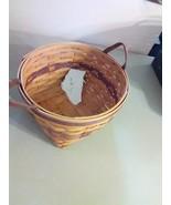 Longaberger May Basket - 1997 - Leather Strap Handles - $9.15