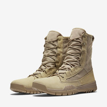 """Nike SFB Field 8"""" Leather Tactical Boots British Khaki Men's Size 12 Mil... - $121.54"""