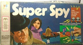 Super Spy The Electronic Alarm Game By Milton Bradley 1971 Not Tested/Complete! - $44.54