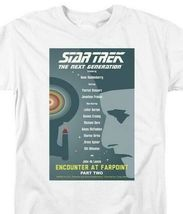Star Trek T-shirt The Next Generation Encounter at Farpoint graphic tee CBS2018 image 3