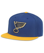 ST. LOUIS BLUES AMERICAN NEEDLE REPLICA WOOL SNAPBACK ADJUSTABLE HAT - B... - £21.08 GBP