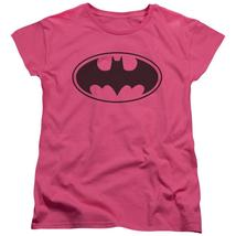 Batman - Black Bat Short Sleeve Women's Tee Shirt Officially Licensed T-Shirt - $20.99+