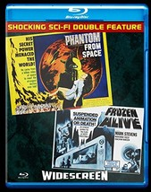 Phantom From Space / Frozen Alive (Blu-ray)