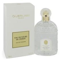 Eau De Fleurs De Cedrat By Guerlain For Women 3.3 oz EDC Spray - $78.71